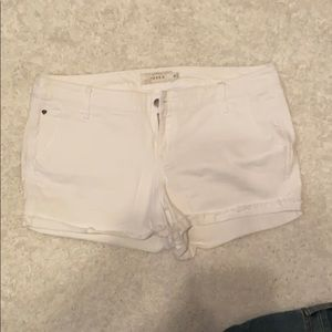 White Torrid shorts